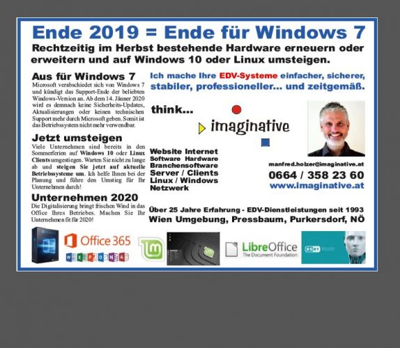 Ende 2019 - Ende Windows 7 und 2008 / 2008R2 Server